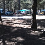 tent site overview