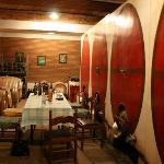 Wine tasting at nearby vineyard