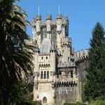 Vista frontal castillo