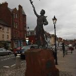 Sculpture of John Muir