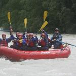 A happy crew of rafters