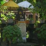 a little shrine in the grounds