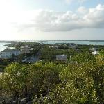 Sapodilla Bay Beach & Chalk Sound (view from hill)