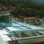 Outdoor Therapy Pool in Spa