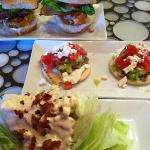 Mini Gyro, Sliders and Wedge Salad