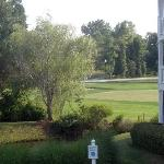 View of Golf Course from front of building!