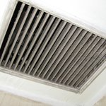 The Vent in bathroom ( Uncleaned for ages)