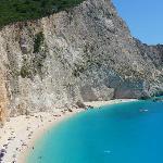 Praia Porto Katsiki - Ilha Lefkada - Grécia