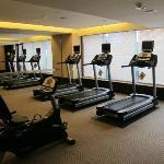 Spacious sparse gym