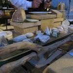 Le chariot de fromages