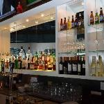 The bar at Harbor Breeze