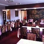 main room of restaurant