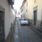 Street leading to Plaza de Arms