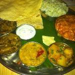 gorgeous chicken thali