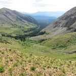 View beyond Black Powder Pass