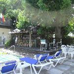 Garden Bar at poolside