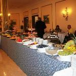 buffet di frutta....