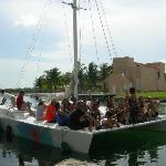 Super divertido el barco!!!