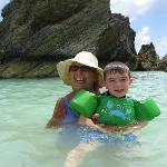 Nana & Jesse at Horseshoe Beach
