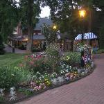 Beautiful Landscaping in Peddler's Village