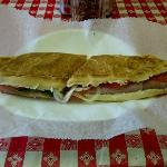 Italian Lover's sandwich at Anthony's Italian Deli, Baton Rouge