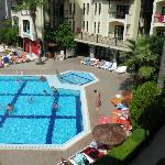 pool view from room f5