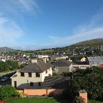 View out over Dingle from our side window