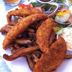 Perch fillets - a great choice for lunch