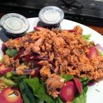 fantastic smoked salmon salad!