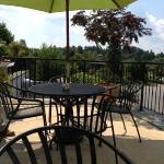 Twigs cafe, outdoor patio