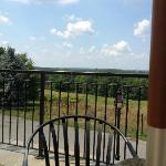 View from the outdoor patio at