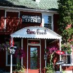 The front entry of Greunke's