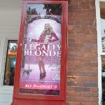 Legally Blonde was the show