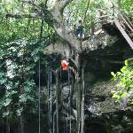 X'Canche rappelling