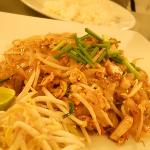 very delicious pad thai from their resto