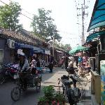 the hutong street