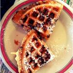 Chocolate chip waffles! the kids loved them ;)