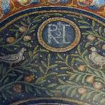 聖アンドレア礼拝堂ヴォールトのモザイク