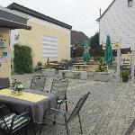 """Too cold to enjoy the """"beer garden"""""""