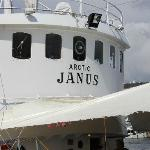 Wheel house of Arctic Janus