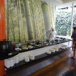 Salón donde se toma el desayuno