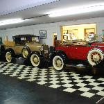 Some of the older vehicles for sale.