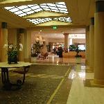 Huge lobby area