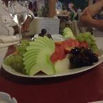 Delicous fruit platter