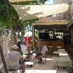The summer bar at Olympus Palace
