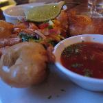 Gamberi in tempura (al bistrot)