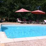 la piscine en plein après-midi : bonheur!