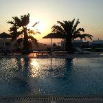 Piscina sunset