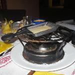 cuisson de raclette