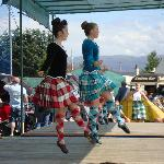 Danse aux Highlands Games à Newtonmore